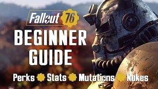 Fallout 76 Beginner Guide: Tips, Tricks, Mechanics Explained