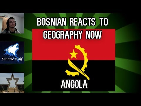 Bosnian reacts to Geography Now - Angola