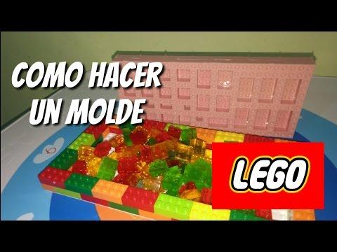 5932d515a8a6 Como hacer molde Lego para gomitas - YouTube