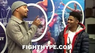 ANDRE WARD PUTS SHAKUR STEVENSON ON NOTICE AFTER BEING CHALLENGED TO A SPARRING SESSION