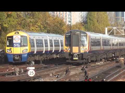 South West Trains diverts at Clapham Junction | Sunday 13th November 2016