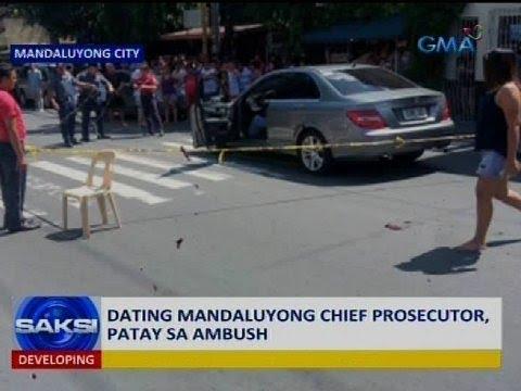 Dating Mandaluyong chief prosecutor, patay sa ambush