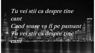 Despre Tine Cant - Dan Balan (with lyrics)