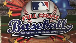 How to play full count baseball the board game