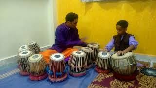 vande mataram on tabla tarang.played by SHRI.HEMANT KIRKIRE. TABLA ACCOMPANY- HARSH WADKAR