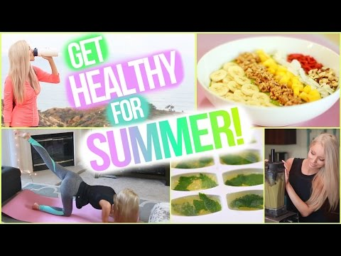 Get Healthy with Me☀ Easy Health and Fitness Tips!