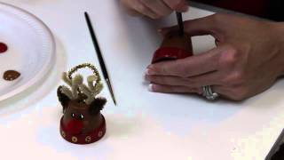 Decoart® 12 Days Of Christmas - Terracotta Snowman And Reindeer