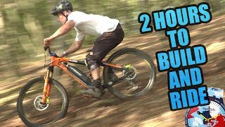2 HOURS TO BUILD AND RIDE CHALLENGE