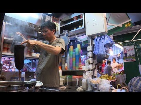 The fuel for Hong Kong's engine: milk tea
