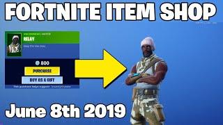 *NEW* RELAY Skin! - Fortnite Item Shop June 8th (Fortnite Battle Royale Livestream)