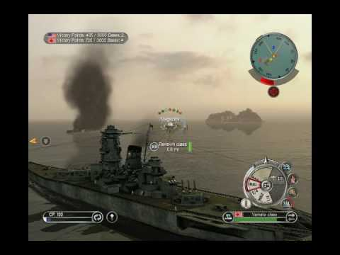 Battlestations Pacific - 3 Yamato's vs the British Fleet 1 of 2