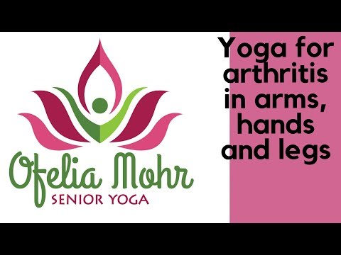 SENIOR YOGA. Yoga for arthritis in arms, hands and legs - full class