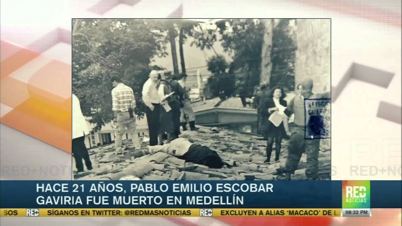El 2 De Diciembre De 1993 Murió Pablo Escobar En Medellín