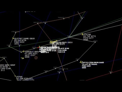 conversa entre piloto e torre de controle ao vivo-escuta aérea from YouTube · Duration:  2 minutes 48 seconds