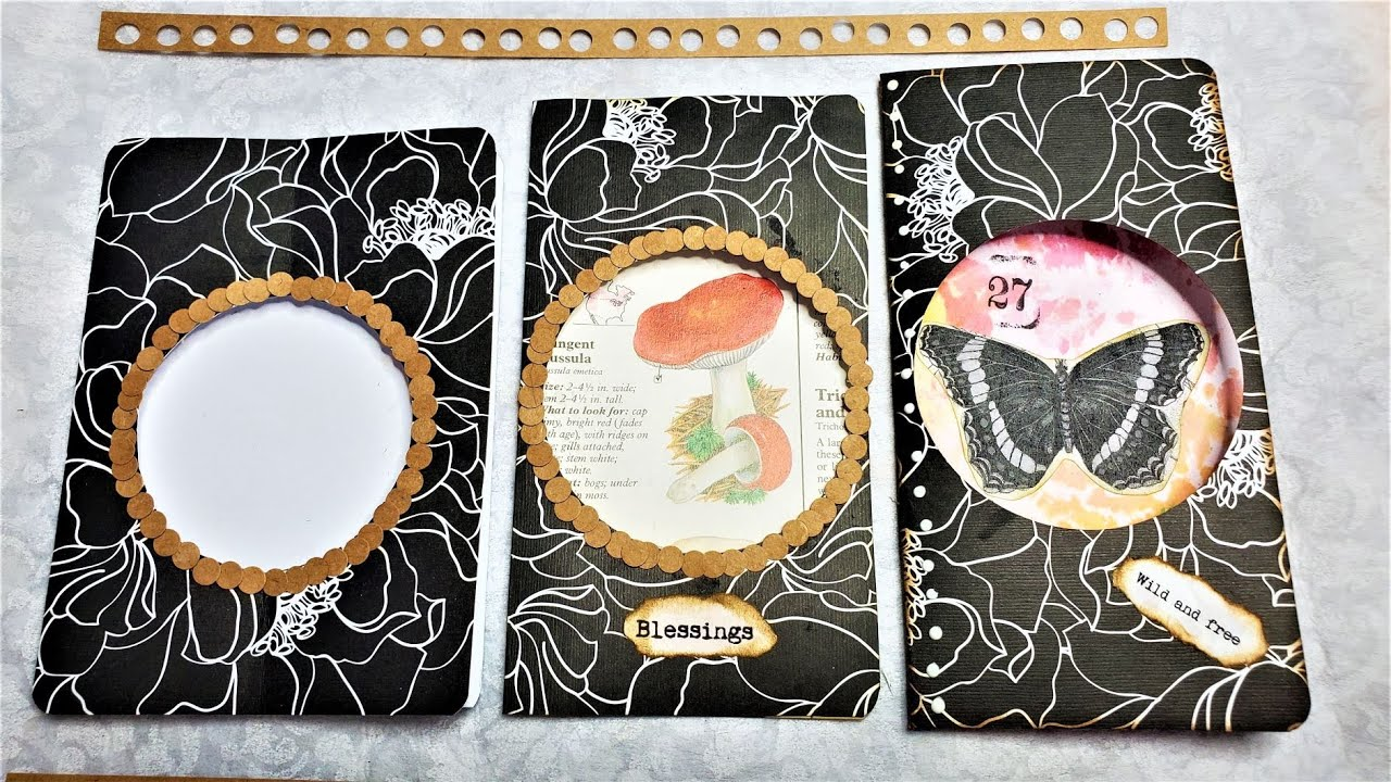 How to Make a Window Booklet for Your Junk Journals! Fun & Easy Tutorial! The Paper Outpost! :)