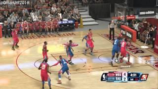 Playstation 4 NBA 2K14 All-Star Game HD Game Play - Eastern Allstars vs. Western Allstars