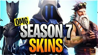 *NEU* SEASON 7 SKINS LEAKED - Fortnite News