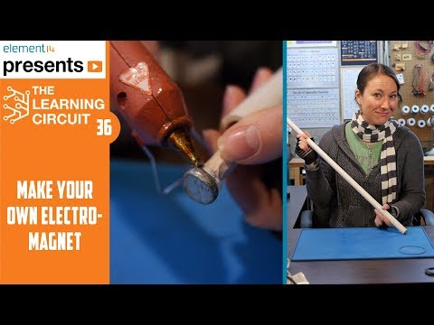 DIY Electromagnet - The Learning Circuit