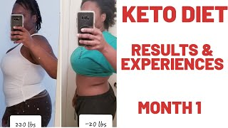 MY KETO DIET | MONTH ONE | Health Chronicles