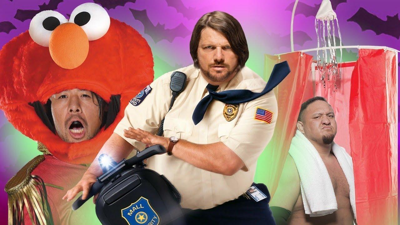 WWE Superstars Reveal Their Weirdest Halloween Costumes  sc 1 st  YouTube & WWE Superstars Reveal Their Weirdest Halloween Costumes - YouTube