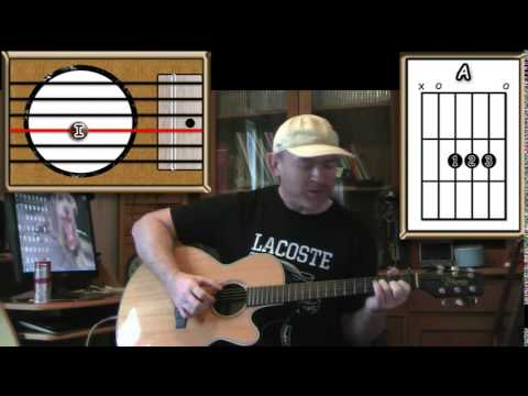 Hushabye Mountain Chitty Chitty Bang Bang Acoustic Guitar Lesson
