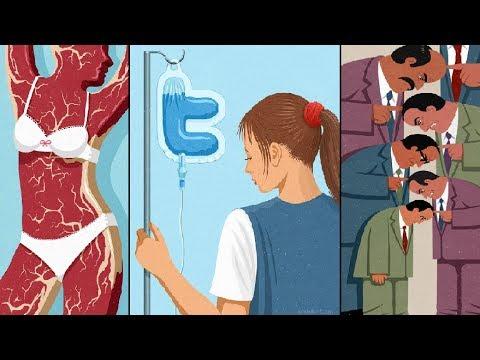 Günümüz Toplumunu Eleştiren 25 Anlamlı Resim !