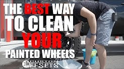 The BEST way to clean YOUR painted wheels!