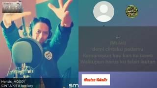 Cinta Kita - Inka Christie feat Amy Search (video karaoke duet bareng lirik tanpa vokal) smule cover