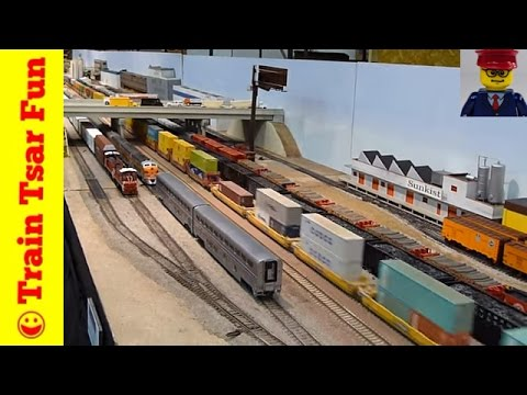 TONS of Toy & Model TRAINS running at NMRA – All scales, LEGO, Thomas, more