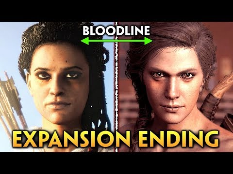Assassins Creed Odyssey ► LEGACY OF THE FIRST BLADE ENDING: Aya & Kassandra's Baby. Expansion Ending