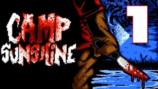 Camp Sunshine   A Grizzly Slasher Horror Game, Manly Let's Play Pt.1