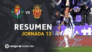 Resumen de Real Valladolid vs RCD Mallorca (3-0)