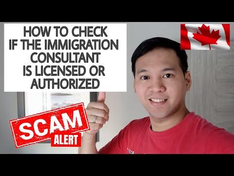 Paano malalaman kung ang Immigration Consultants ay Legit/ Fake Immigration Consultants sa Canada
