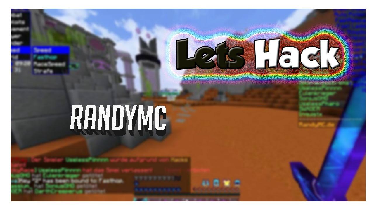 RandyMC und ihr FickAnticheat! xd - YouTube