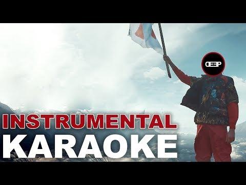 Ghali: CARA ITALIA (Karaoke - Instrumental)