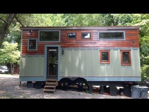 Couple's Labor of Love Tiny House