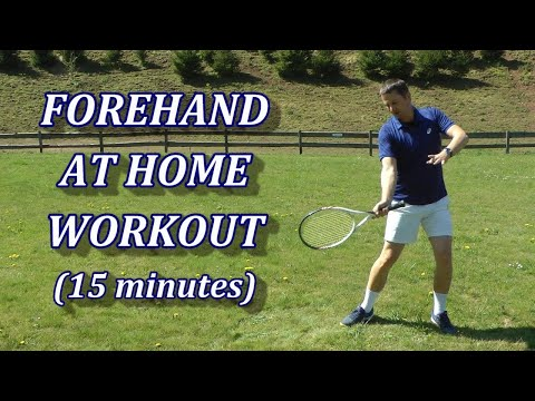 Tennis At Home Practice - Rebuilding The Forehand Technique (Part 1)