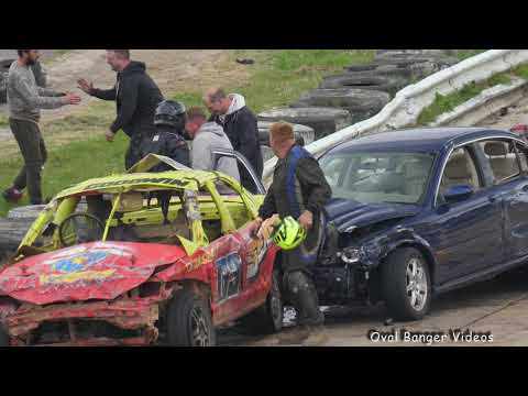 Banger Racing Angmering Oval Raceway - CB Contact - 6th May 2019