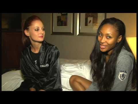 Exclusive: Room Tour with Caylene and Tidimalo