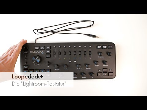 Loupedeck Plus | Tastatur für Lightroom, Capture One & Co im Test [Deutsch]