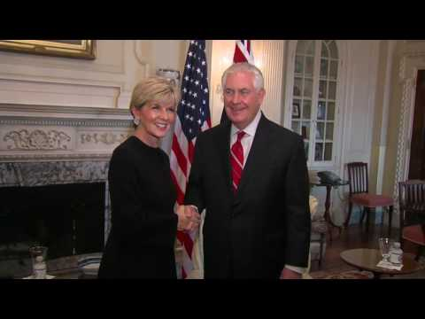 Sec of State Tillerson Meets Australia Minister