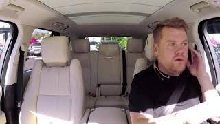 Carpool Karaoke | James Corden And Liam Neeson Are Best Friends