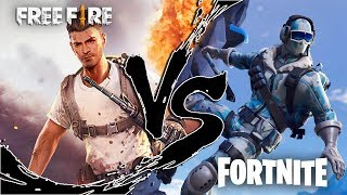 FREE FIRE VS FORTNITE RAP | Thumper