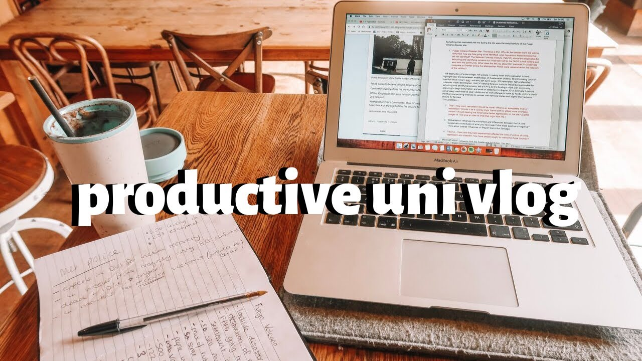 UNI VLOG | A VERY PRODUCTIVE WEEKEND!!