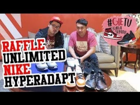 GIETU #5 Sneaker 31JT Bakalan di Raffle Unlimeted!! (at Urban Sneaker Society)