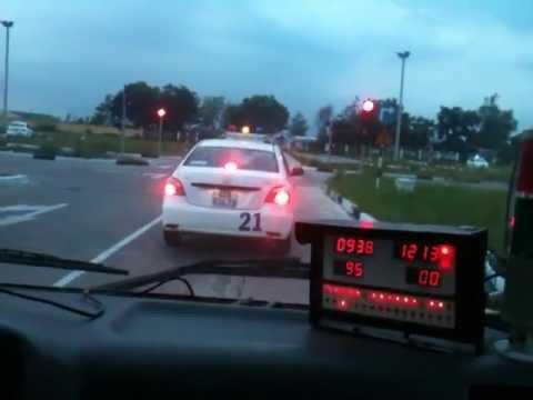 Sát hạch lái xe KIA ( B2 ) các lỗi hay gặp -Tại  Đồng Nai