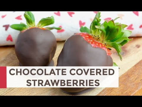 How To Make Chocolate Covered Strawberries | Easy Valentine's Day Recipe