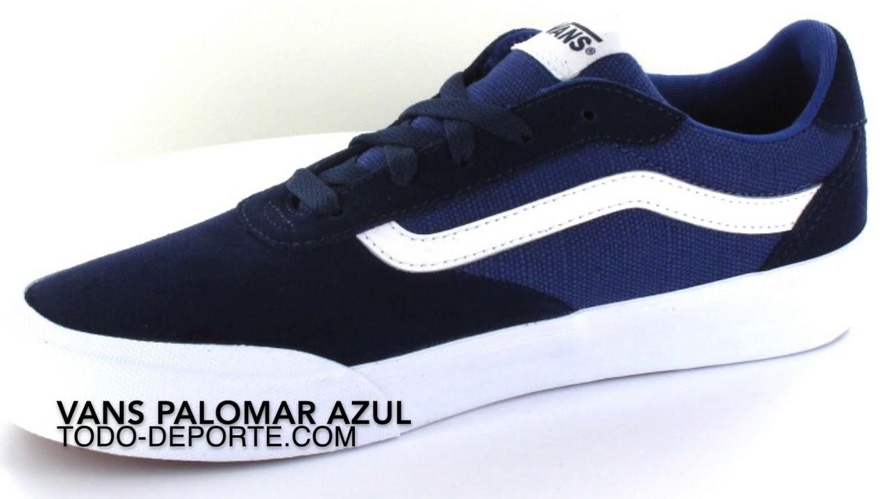 3f7528176 Running Shoes Vans Palomar Blue