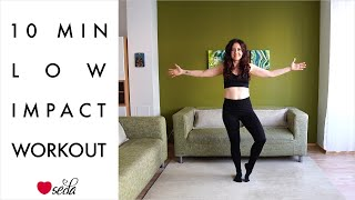 10 Min Low Impact Workout for Fat Loss || No equipment || Certified Group Fitness Instructor