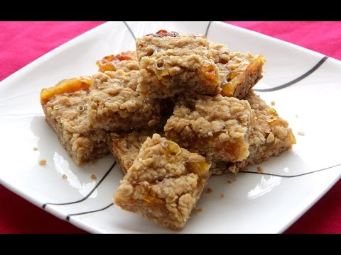Sweet Summer Oatmeal Squares Recipe